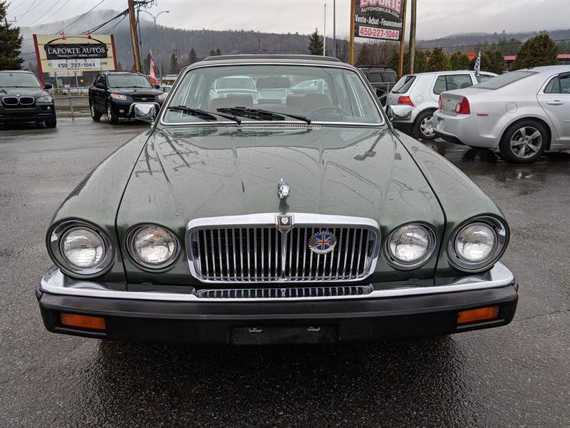 1986 Jaguar Xj6 SOVEREIGN TOUTE ORIGINALE BAS KILO Used For Sale In  Sainte Anne Des Lacs At Laporte Automobiles