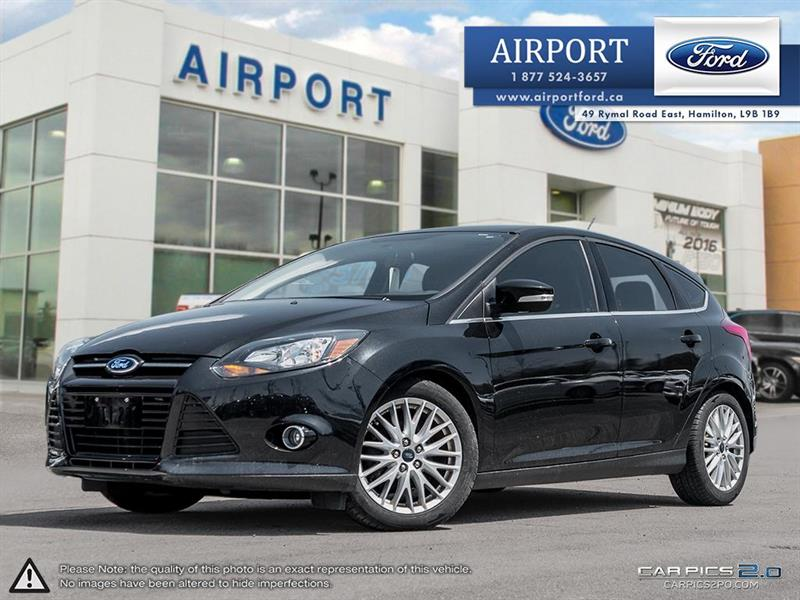 2014 Ford Focus Titanium with only 51,886 kms #1HL020