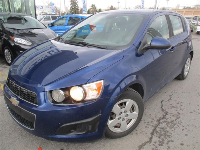 Chevrolet Sonic 2013 LS, BAS KM, PHARES AUTOMATIQUE #18292A