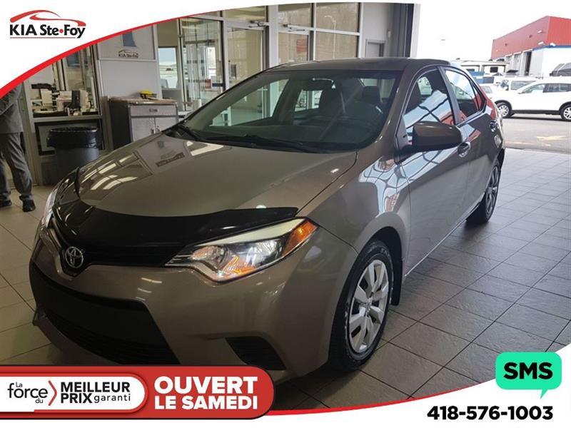 Toyota Corolla 2014 LE** CAMÉRA * SIÈGES CHAUFFANTS* HITCH* #U1822