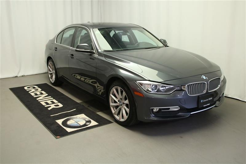 2014 BMW 320I xDRIVE, Vrai cuir, xénon, Groupe moderne, Financem #B0317