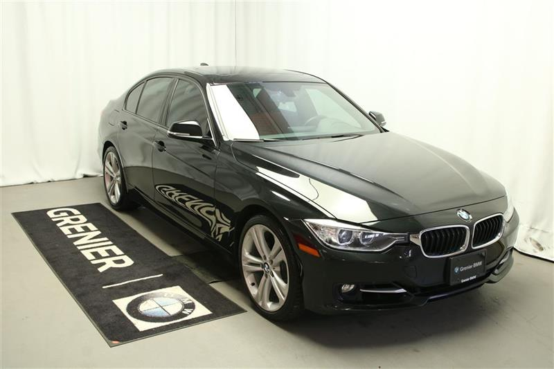 BMW 328I 2014 xDrive,Cuir rouge,Groupe Sport et Premium #B0316