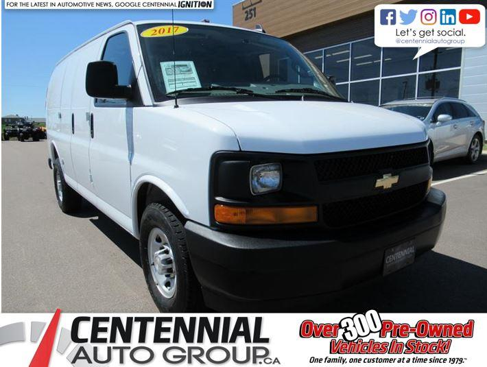 2017 Chevrolet Express Cargo Van 2500 135 | 4.8L V8 | Leather Seats #U463
