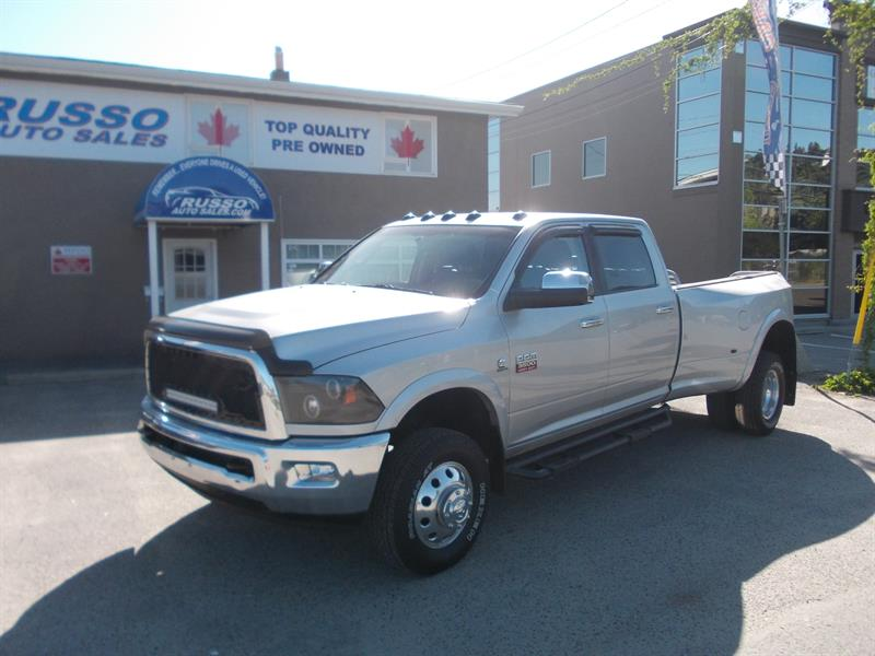 2011 Ram 3500 Laramie Crew Cab Dually 4X4 #3224