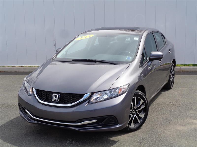 2015 Honda Civic Sedan EX #C4133A