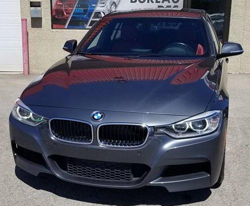 BMW 3 Series 2014 335i xDrive M package, NAVI, Toit, cuir ROUGE #6079