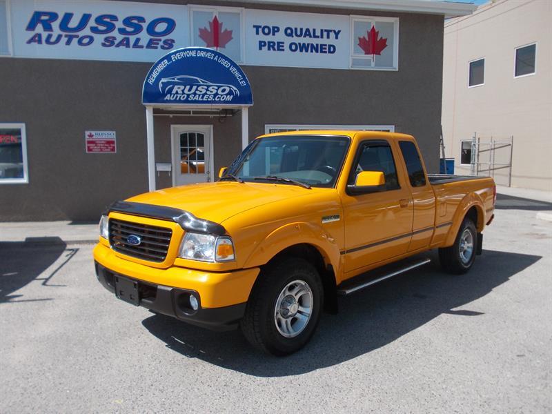 2008 Ford Ranger Sport SuperCab 2wd #3227