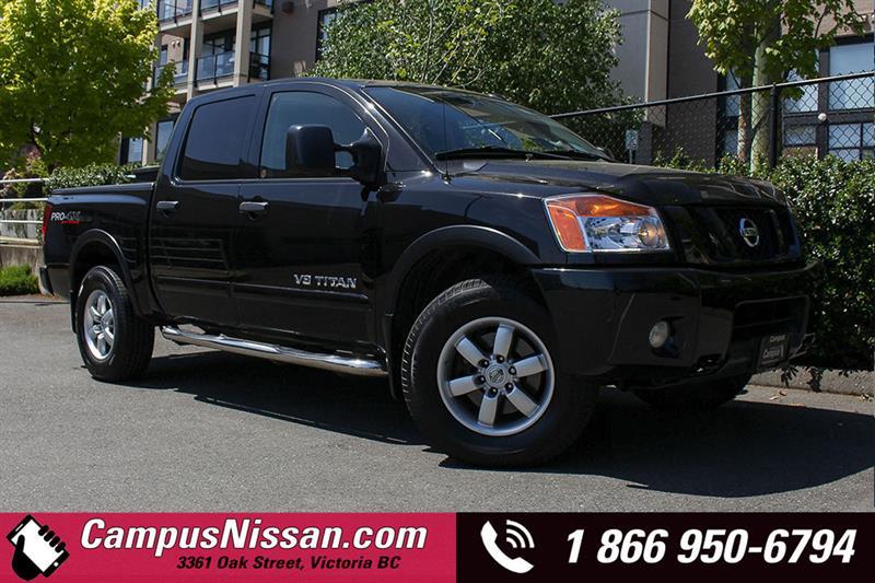 2010 Nissan Titan Crew Cab Pro-4X #8-F125A