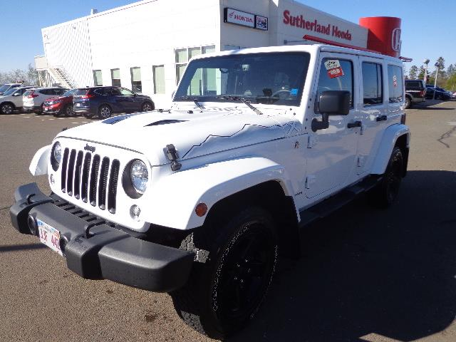 2015 Jeep Wrangler Unlimited 4WD 4dr Wrangler X Games Edition SAHARA #FL607689A
