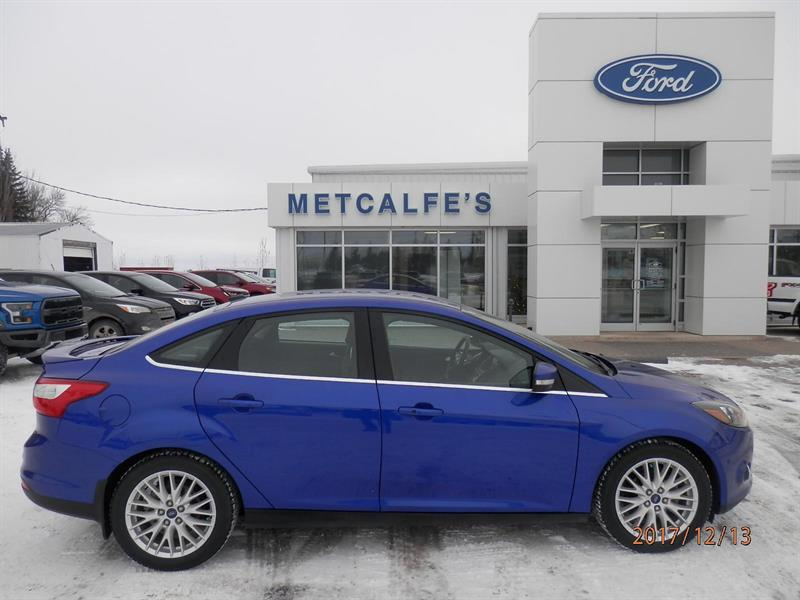 2013 Ford FOCUS Titanium #X54038