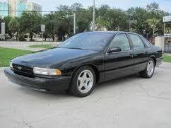 1995 Chevrolet Impala SS #0035