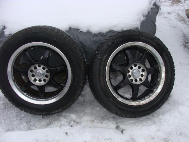 2003 SET OF FOUR Universal Bolt pattern Mags& Tires