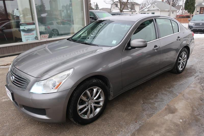 2007 Infiniti G 35X LOADED remote start #07G35XAWD125,000K