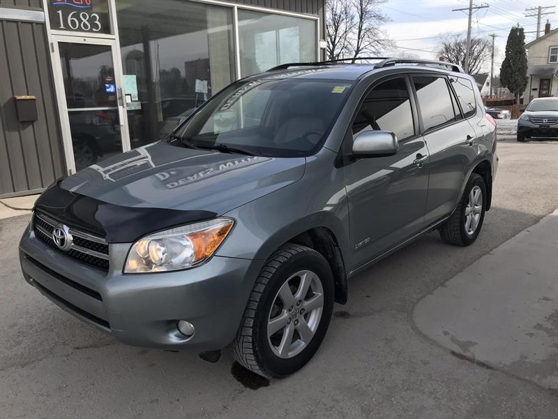 2007 Toyota RAV4 Limited  108,000 km #07RAV4LIMITED