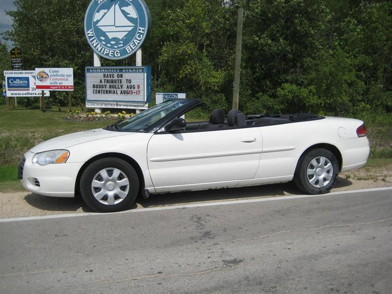 2005 Chrysler Sebring Convertible #6146