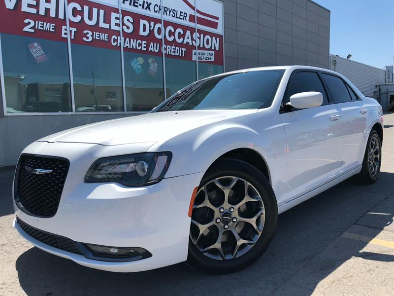Chrysler 300 2016 4dr Sdn 300S AWD+TOIT+NAV+MAGS+CUIR+WOW! #UD4638