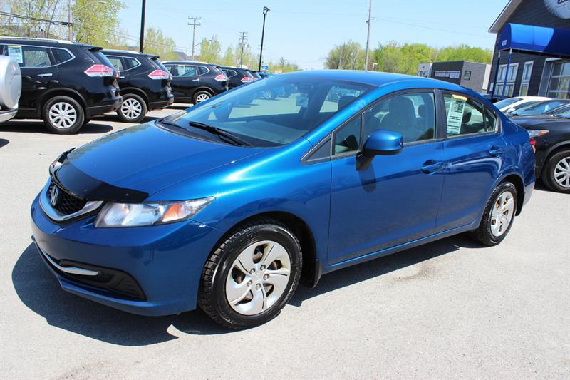 Honda Civic Sdn 2013 LX #A4556