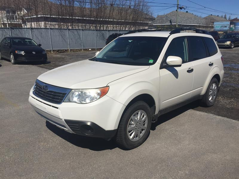Subaru Forester 2010 Auto 2.5i Commodité #8070XA