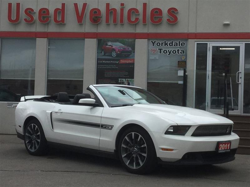 2011 Ford Mustang GT California Special Edition - Soft Top  Cruise  #P6986A