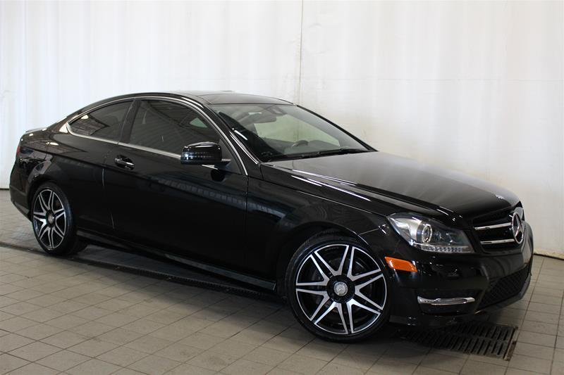 Mercedes-Benz C350 2015 4MATIC Coupe SPORT PACKAGE #U18-196