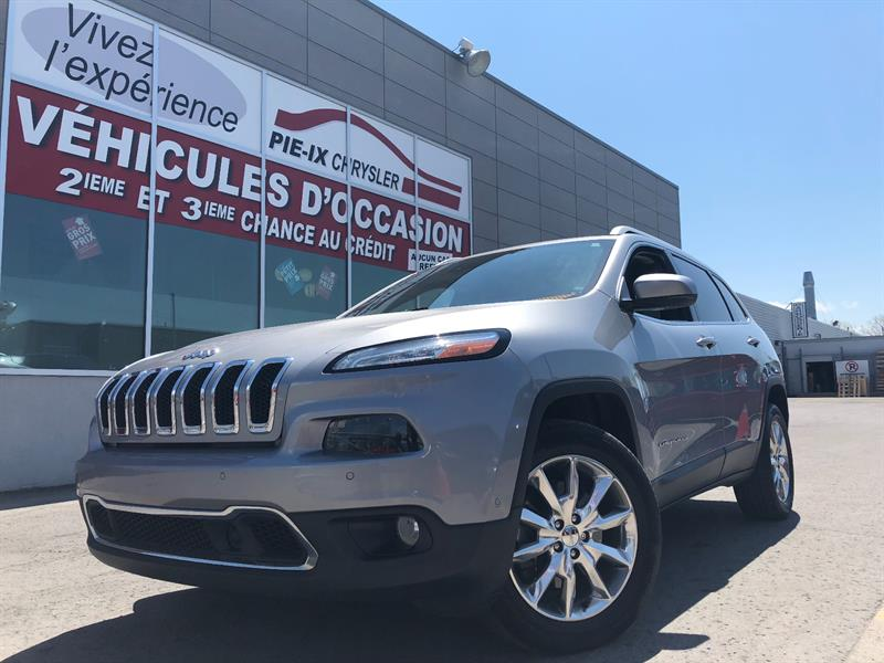 Jeep Cherokee 2014 4WD 4dr Limited+TOIT PANO+CUIR+NAV+FULL FULL+WOW! #G0030