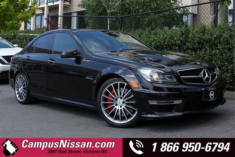 2013 Mercedes-Benz C-Class C 63 AMG Sport Sedan #8-P212B