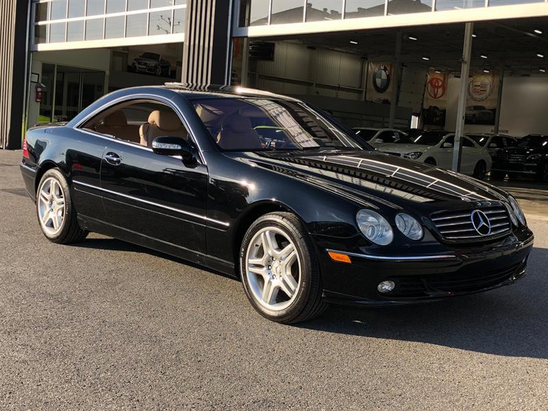 Mercedes-Benz Classe-CL 2003 CL500 #A6253