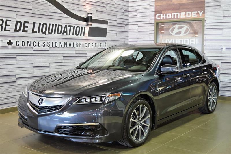 Acura TLX 2015 TECH+AWD+V6+GPS #S7956#