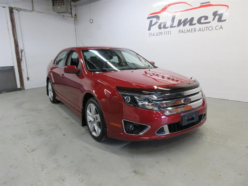 Ford Fusion 2010 V6 SPORT AWD,CUIR,TOIT OUVRANT #557