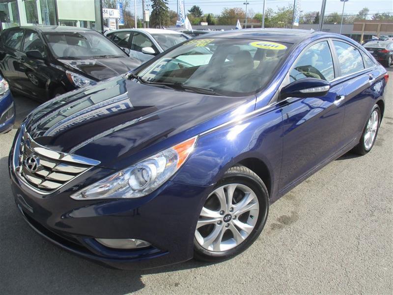 Hyundai Sonata 2011 Limited MAGS,TOIT,CUIR,BLUETOOTH,BANCS CHAUF #17679A