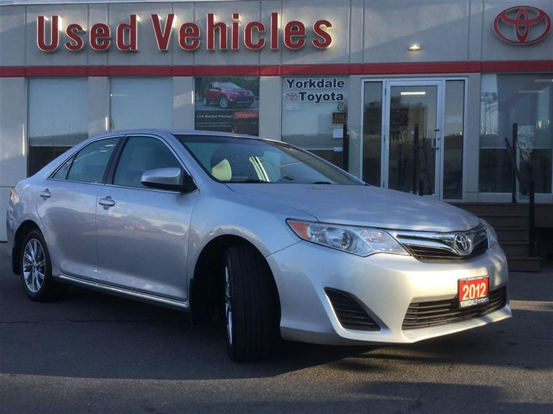 2012 Toyota Camry LE- Nav  Alloys  Cruise  A/C  USB/AUX  Power Group #P7191