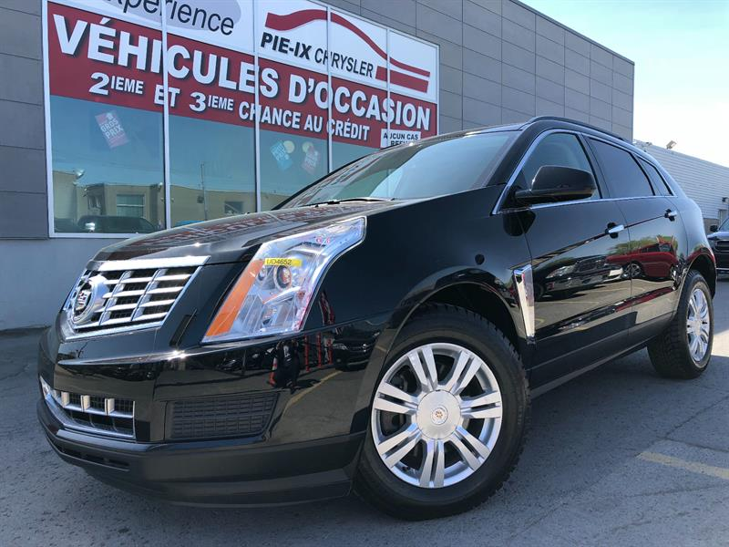 Cadillac SRX 2013 Leather Collection+CUIR+MAGS+A/C+R.ELEC+WOW! #UD4652