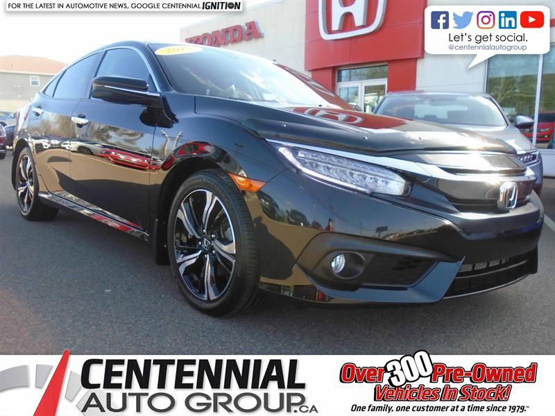 2016 Honda Civic Sedan Touring | 1.5L | Backup Camera | Bluetooth | NAVI  #9230A