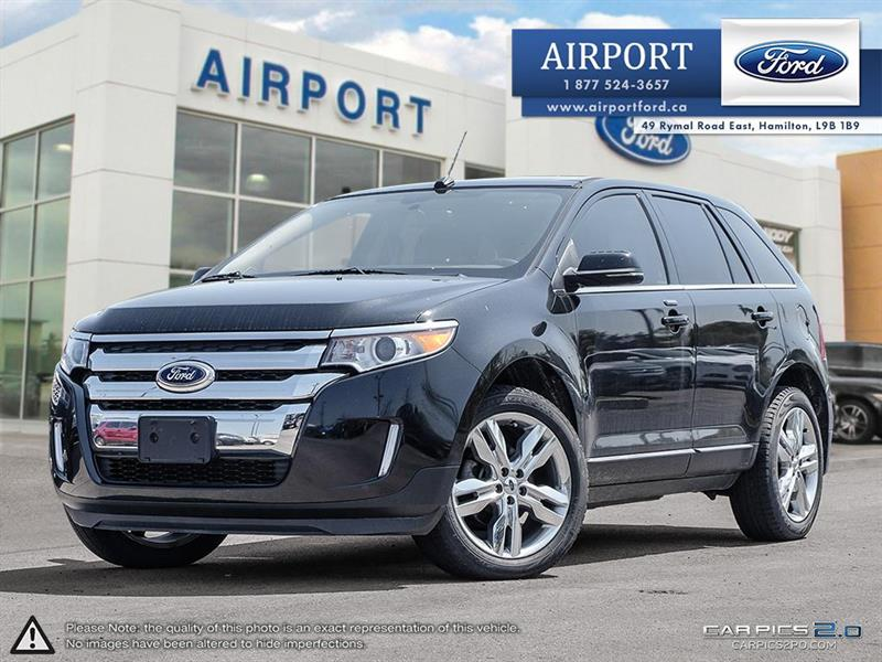 2013 Ford EDGE Limited AWD with only 93,506 kms #A80530