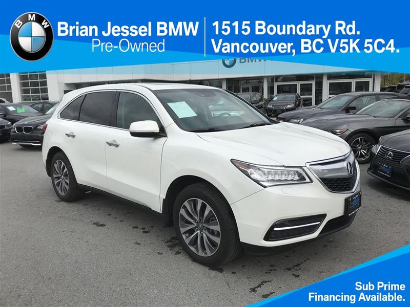 2015 Acura MDX Tech at #BP6319