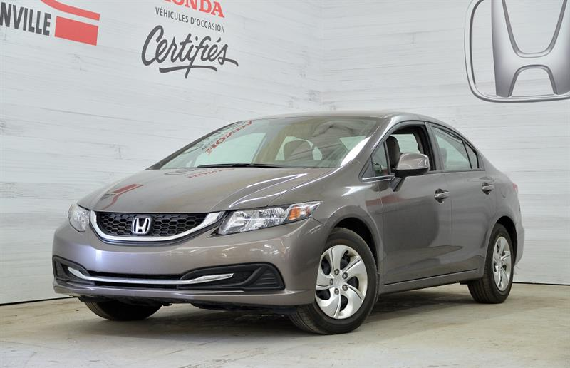 Honda Civic Berline 2013 4 portes Lx automatique #u-1127