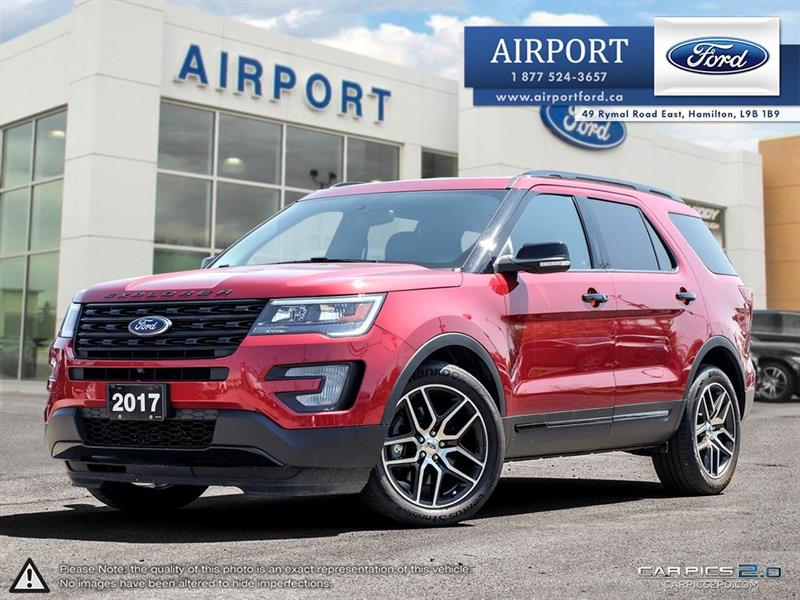 2017 Ford Explorer Sport 4WD with only 29,432 kms #00H894