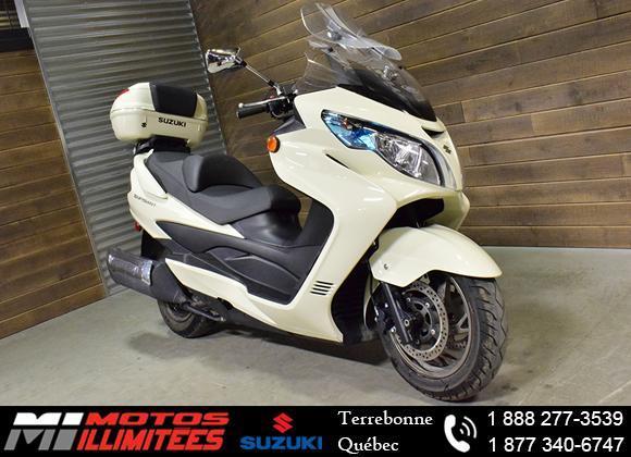Suzuki Burgman 400 ABS 2013
