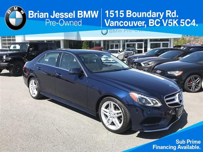 2014 Mercedes-Benz E350 4MATIC Sedan #BP6331