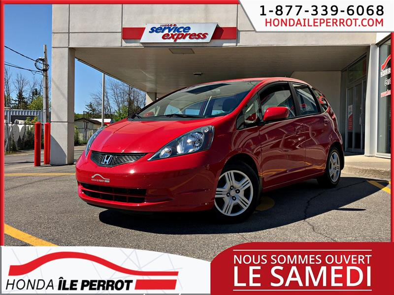 Honda FIT 2014 5dr HB Man LX BLUETOOTH  #44546