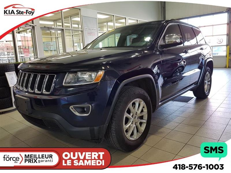 Jeep Grand Cherokee 2015 Laredo* V6* 4X4* HITCH*  CLIMATISATION 2 ZONES* #180638A