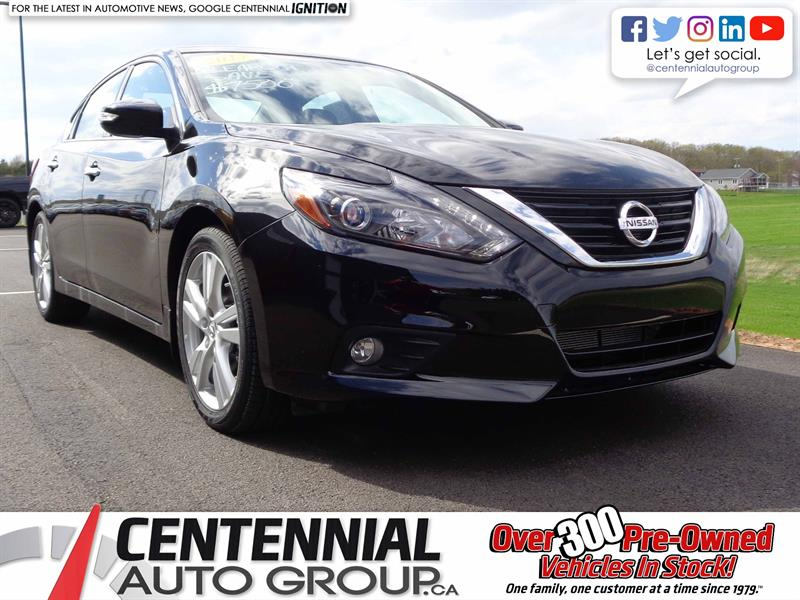 2017 Nissan Altima SAVE $8500 | NEW | SL 3.5 | #S18-087