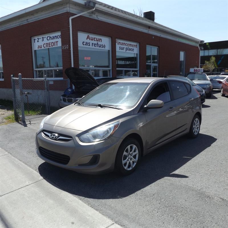 Hyundai Accent 2012 5dr HB #2225-05