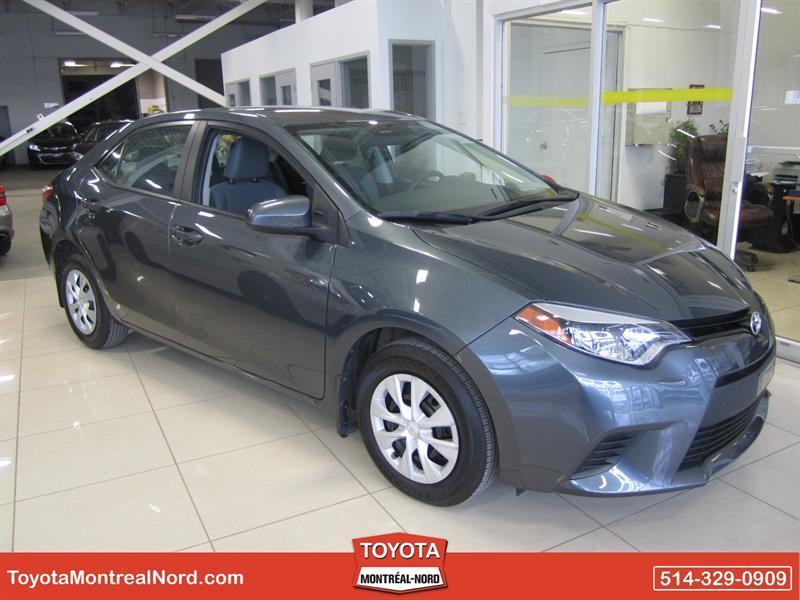 Toyota Corolla 2014 CE Aut/Ac/Vitres,Portes,Miroirs Electriques  #3158 AT