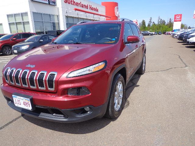 2015 Jeep Cherokee 4WD 4dr North #FW708599A
