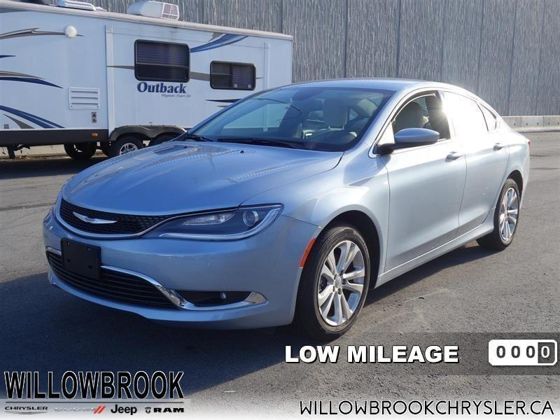 2015 Chrysler 200 Limited  - Low Mileage #17UP434