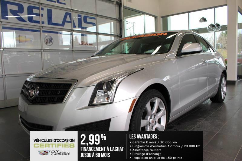 Cadillac ATS 2014 AWD , 2,0 L TURBO , TOIT OUVRANT  #82049