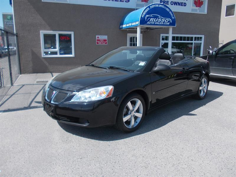 2006 Pontiac G6 GTP RETRACTABLE HT, ONLY 99 KMS #3230