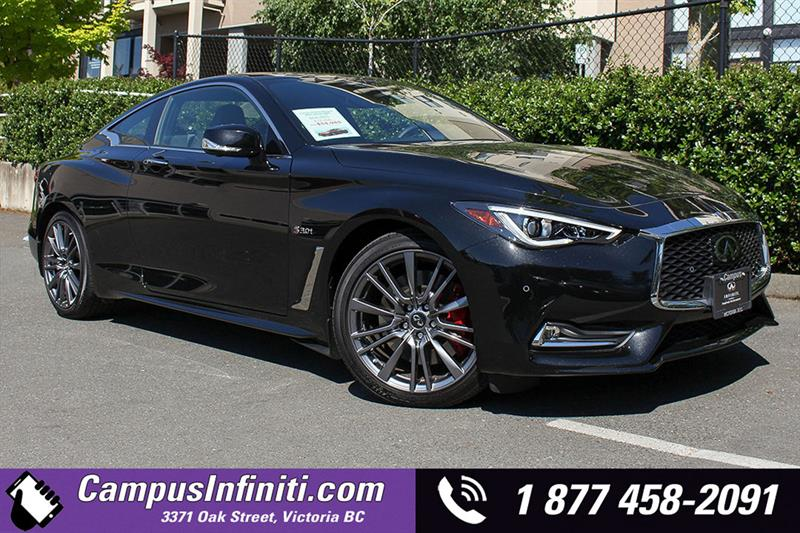 2017 Infiniti Q60 3.0T Red Sport 400 Technology Package #17-Q6015
