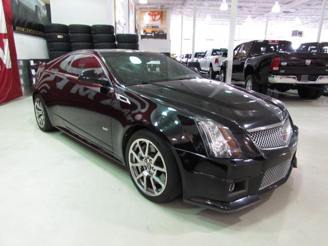 cadillac cts v coupe cts v 556hp supercharged 2011 occasion vendre saint eustache chez le roi. Black Bedroom Furniture Sets. Home Design Ideas